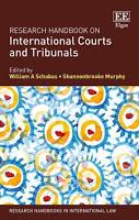 Schabas & Murphy: Research Handbook on International Courts and Tribunals
