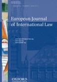 New Issue: European Journal of International Law