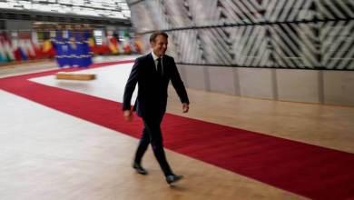 En foto: Emmanuel Macron, a su llegada a la cumbre en Bruselas, el pasado 30 de junio. En vídeo: declaraciones de Macron, el presidente de Francia. KENZO TRIBOUILLARD AFP | VÍDEO: REUTERS