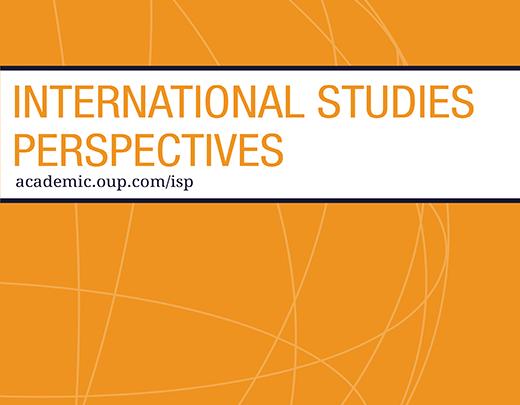 International Studies Perspectives - Volume 20, Issue 3, August 2019