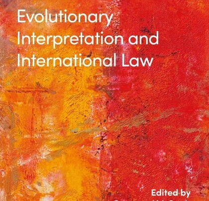 Evolutionary Interpretation and International Law