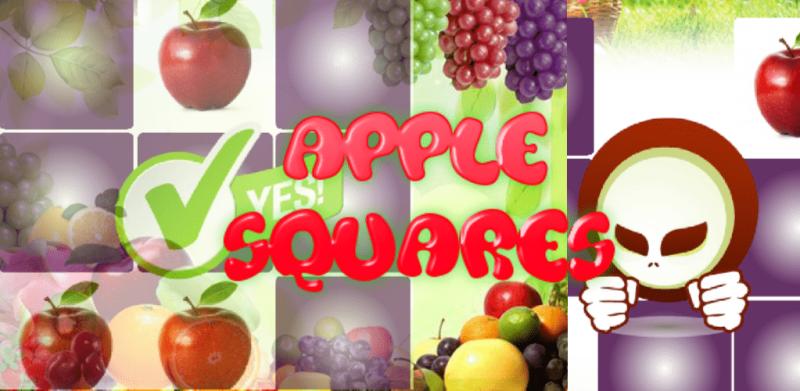 Memory Game Apple Squares