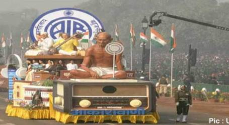 AIR showcases its tableau on Republic Day parade for first time