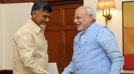 Andhra CM meets PM, seeks Centre's aid for state