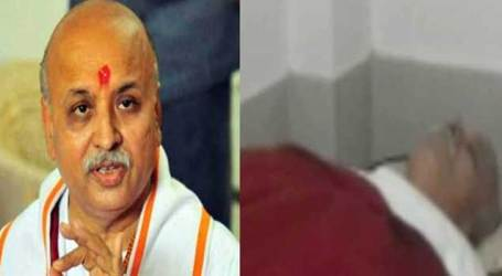 Togadia gotconscious, he will address press conference, Tight security deployed in Hospital