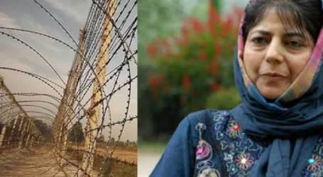 Mehbooba demands India-Pak dialogue to stop cross LoC firing
