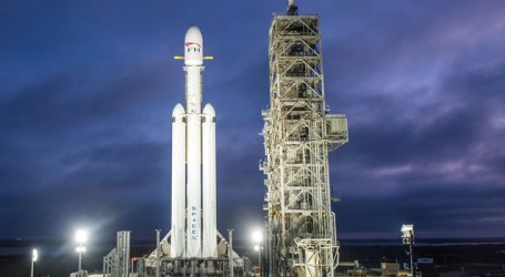 World's most powerful rocket SpaceX's Falcon Heavy rocket launched