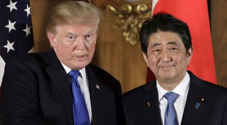 Japan's Abe departs for US to hold 2-day summit with Trump