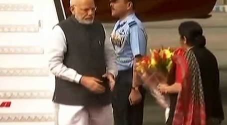 PM Modi returns to Delhi after three-nation tour
