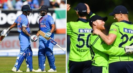 India stroll to series win over Ireland