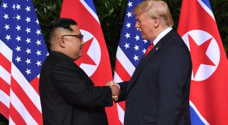 Trump, Kim launch historic Singapore summit, may discuss to end the 1950-53 Korean War