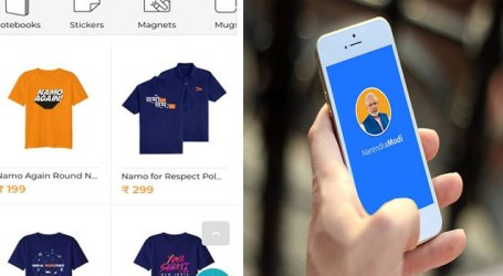 NamoApp Merchandise – An innovative electoral strategy