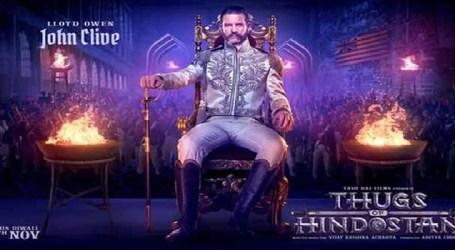 YRF presents cruel, merciless villain of 'Thugs of Hindostan' Lord John Clive
