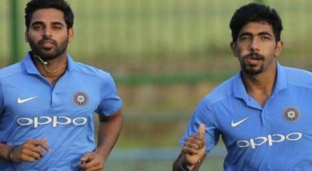 Bumrah, Bhuvneshwar Return, Shami Out  For Final 3 ODIs vs Windies