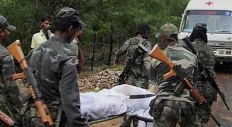 4 civilians, CISF jawan killed in IED blast in Chhattisgarh
