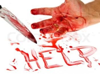 Husband murders wife by slitting her throat