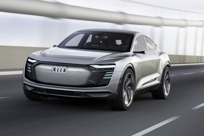 newsatfirst   audi's introducing new electric car  news at first