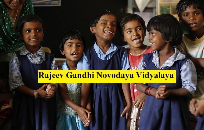 Rajeev Gandhi Novodaya Vidyalaya Admission