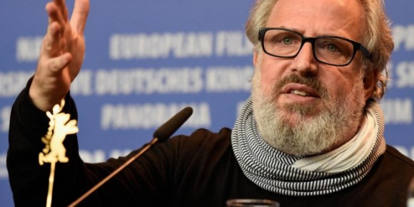 Israeli director Udi Aloni attends the 'Junction 48' press conference at the Berlin Film Festival. Credits: Getty Images