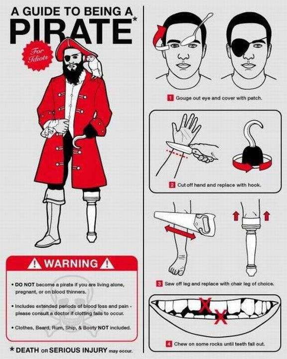 How To Become A Pirate : become, pirate, MMG's, English, PMCurie, Become, Pirate