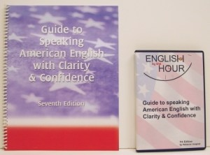 English by the Hour Book and CDs