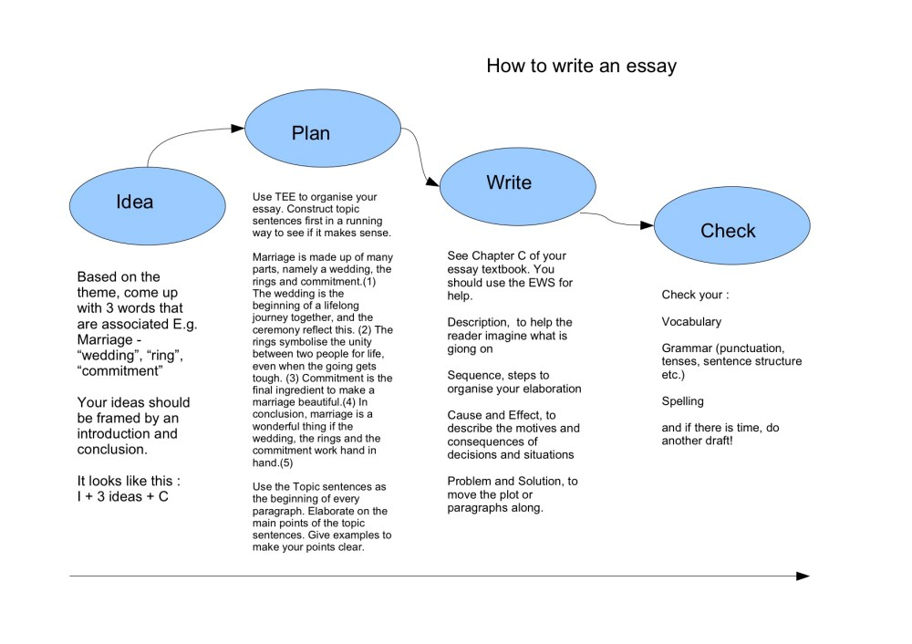 medium resolution of example essay point by point method