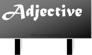 Definition Adjective and Examples