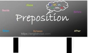 Pengertian, Jenis, dan Contoh Preposition Beserta Latihan Soal