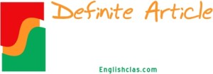 Definition Definite Article + Example