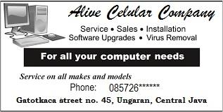 Advertisement od service