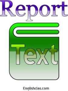 Penjelasan Report Text, Generic Structure dan Contohnya