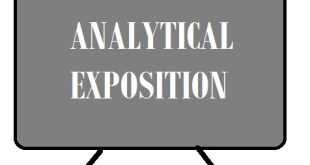 Pengertian dan Contoh Analytical Exposition Text