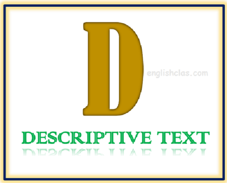 Latihan Soal Descriptive Text