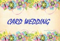 Contoh Invitation Card Wedding