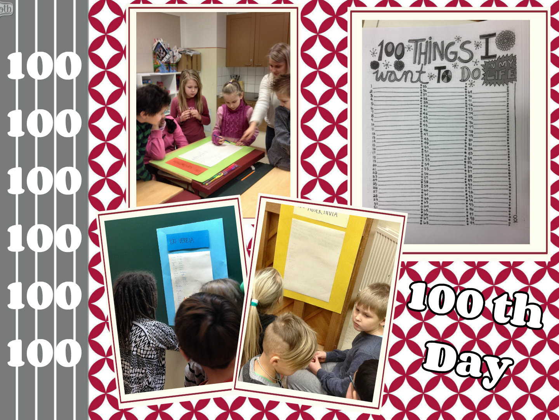 100th Day Crowns English Classes At Cygnaeus School