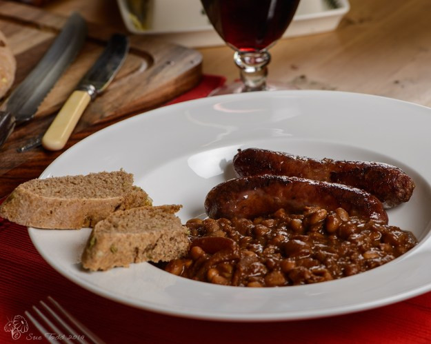 Boston Baked Beans with Coffee © Sue Todd 2014