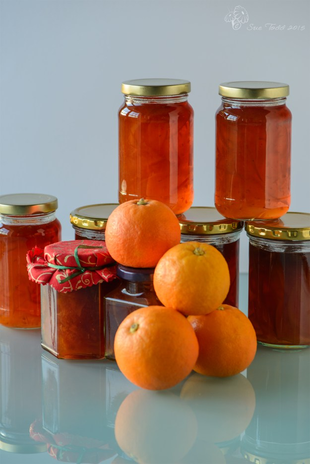 Seville Orange Marmalade. © Sue Todd 2015.