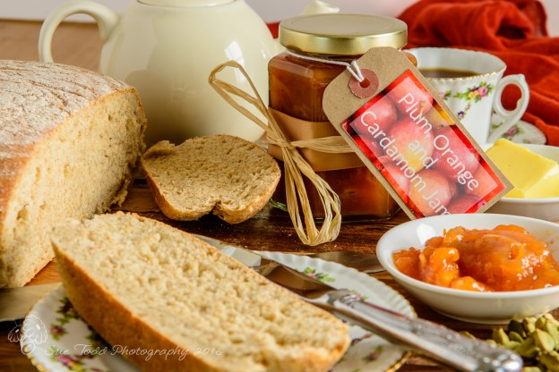 Plum orange and cardamom jam - Christmas Jam! © Sue Todd Photography 2015