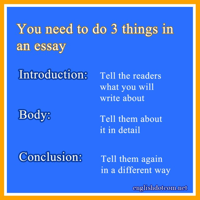 How to write a good essay: The 29 essential parts of an essay