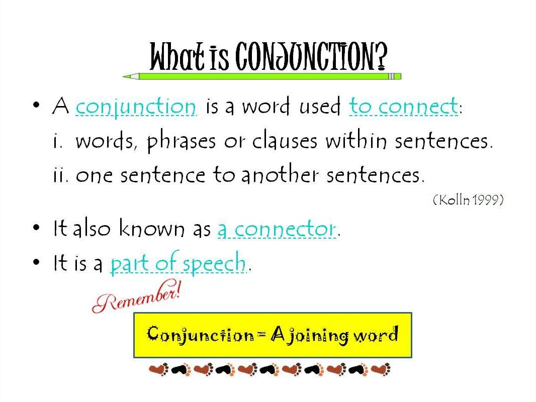 What Is Conjunction
