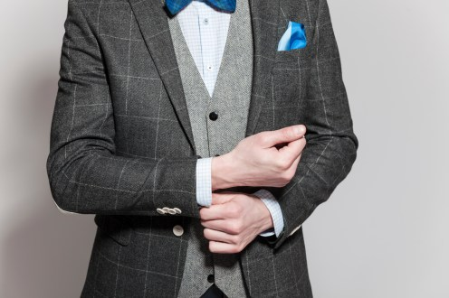 How to wear your bow tie & pocket square