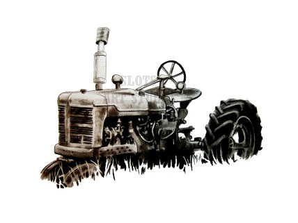 tractor-drawing