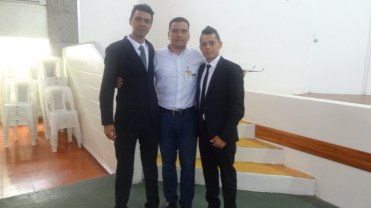 Alex,Moises and Cristian