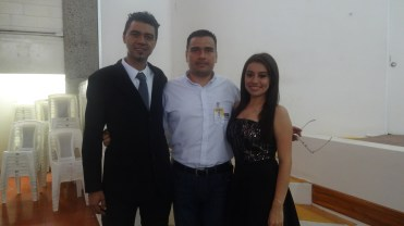 Ale , Moises and Rocio ,Conv Group,May 2015