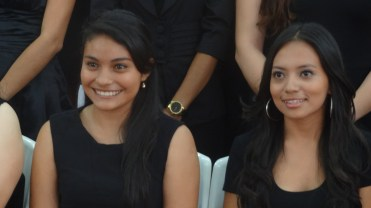Ale and Gaby,TALK Group , April 2015