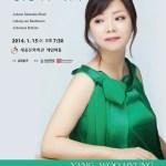 Yang Woo-hyung, Piano Recital, Sejong Center, 15 Jan 2014, 7:30 pm