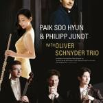 Paik Soo Hyun & Philipp Jundt with Oliver Schnyder Trio at Youngsan Art Hall, 8 February 2014.