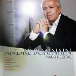 André Boainain Piano Recital, Kumho Art Hall, Seoul. 2 June 2015