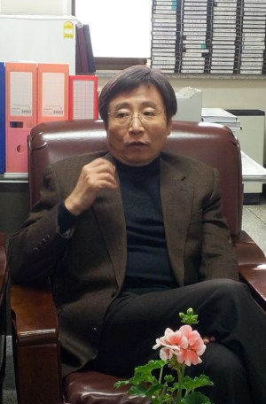 Professor Chung Indong (PHOTO: An Ah-hyun)