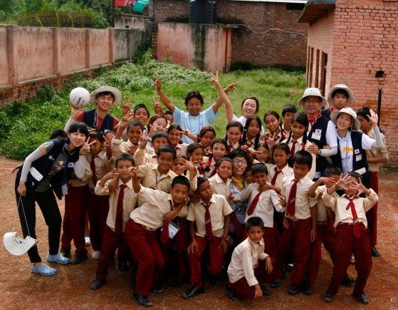 Korea's aid to Namuna Machhindra School, Nepal